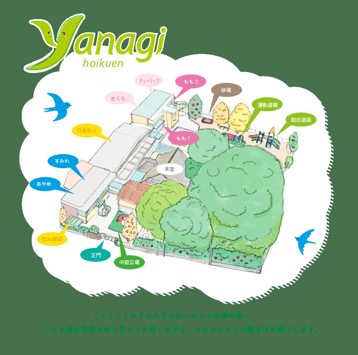 柳保育園〈公式サイト〉名古屋市中村区の保育園